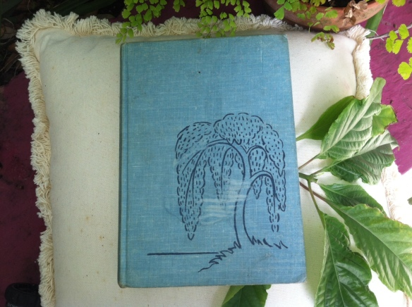 Blue Willow book from parents early 1950s
