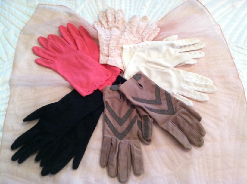 My collection of old gloves