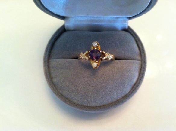 Grandma's ring in her fancy years
