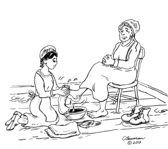 Mennonite Flashback II: Circles and Tubs