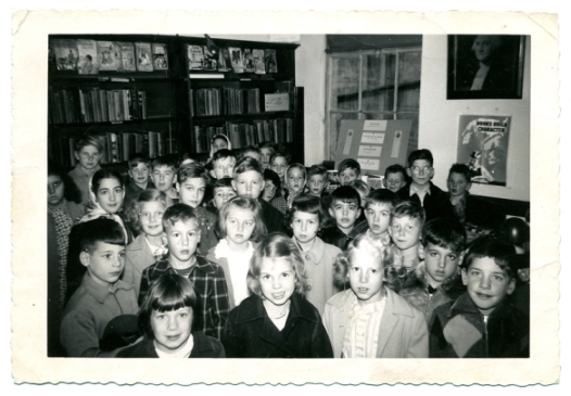 My class at Elizabethtown Library