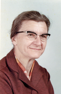 Aunt Ruthie: Principal, Rheems Elementary School, about 1975