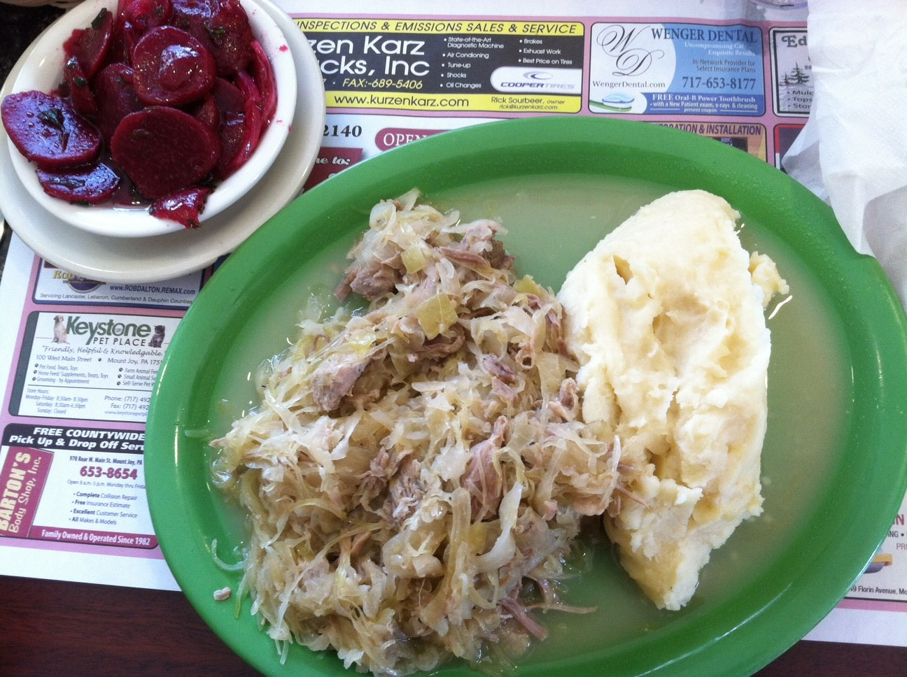 Pork sauerkraut recipes pennsylvania dutch