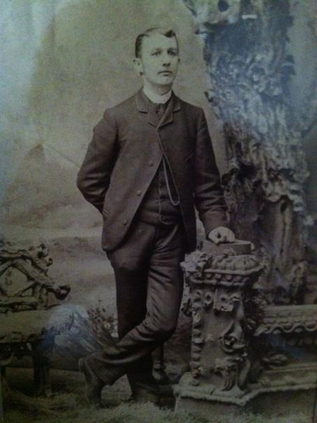 Samuel Brinser Martin 1863 -1957    Victorians didn't smile for photos!