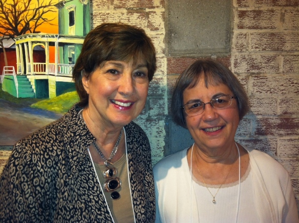 My college room-mate Verna Mohler Colliver and me