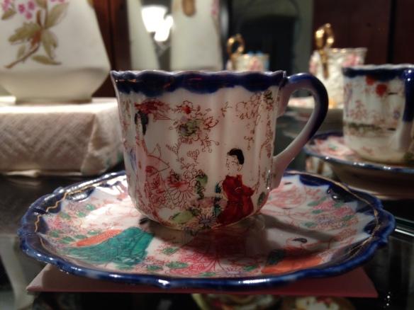 Japanese teacup from Grandma Annie Metzler