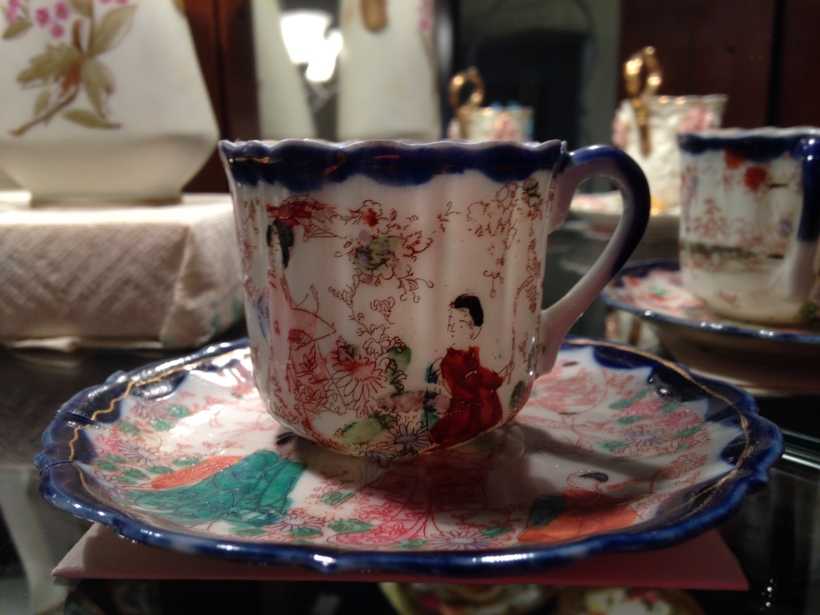 Japanese teacup from Grandma Annie Metzler