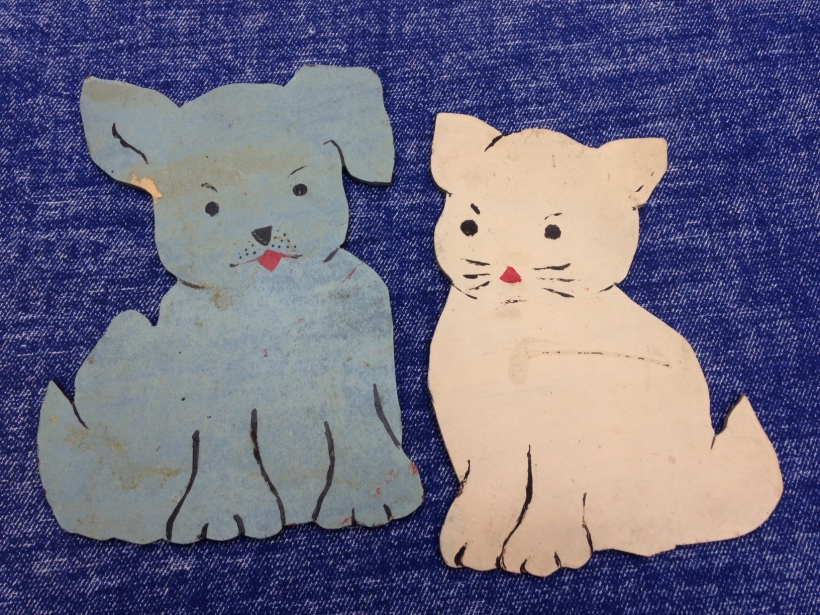 My Dog and Cat Plywood Pets