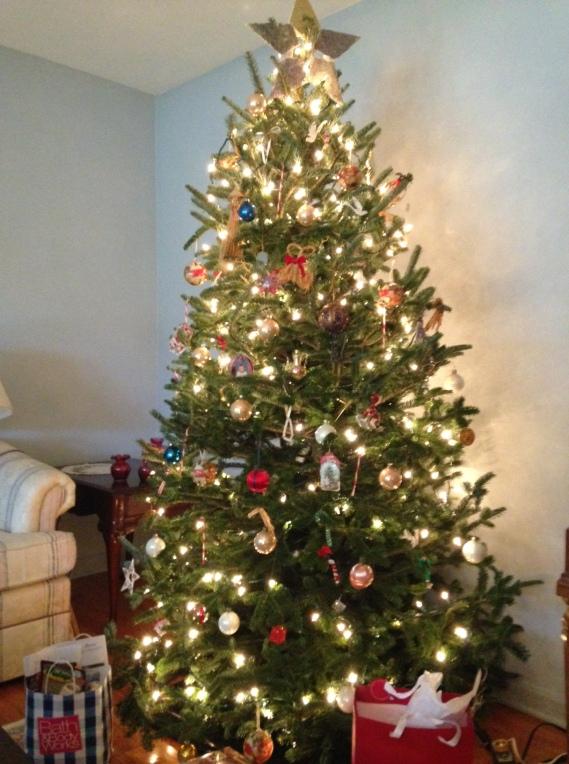 O Tannenbaum! Longenecker-Beaman Tree 2013