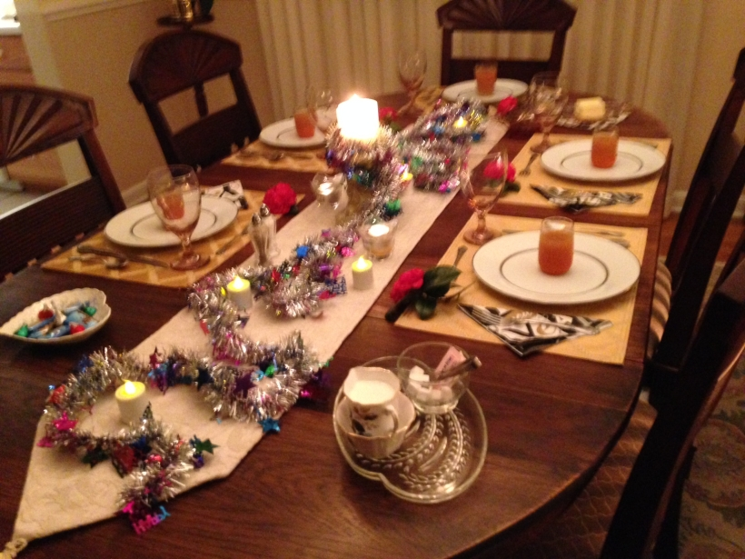 New Year's Table