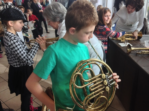 Patrick and French Horn, Orchestra Zoo