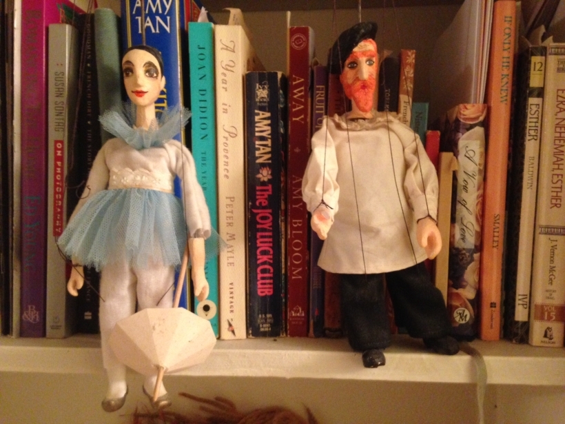 Marionettes from Prague - Books from all over