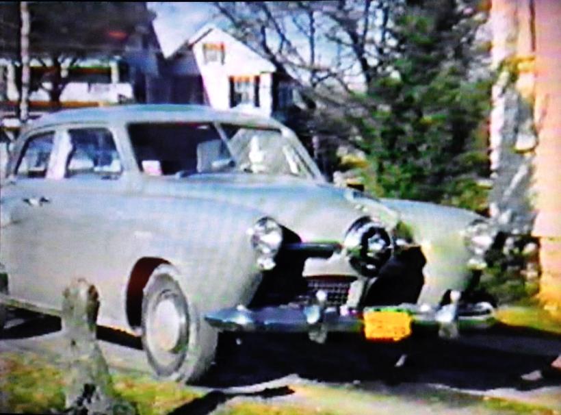 Driving test Studebaker, 1950s