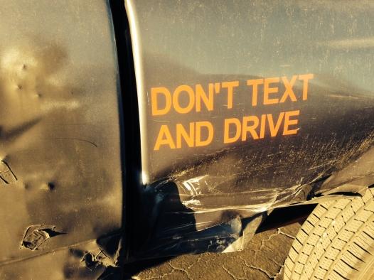 DriveTextSign