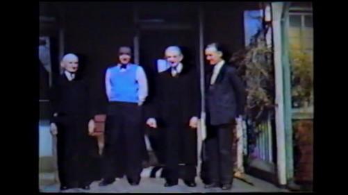 Grandpa Sam, my Dad, Cousin Leonard, Uncle Joe