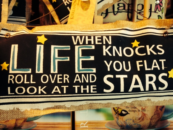 SignLifeKnocksFlat
