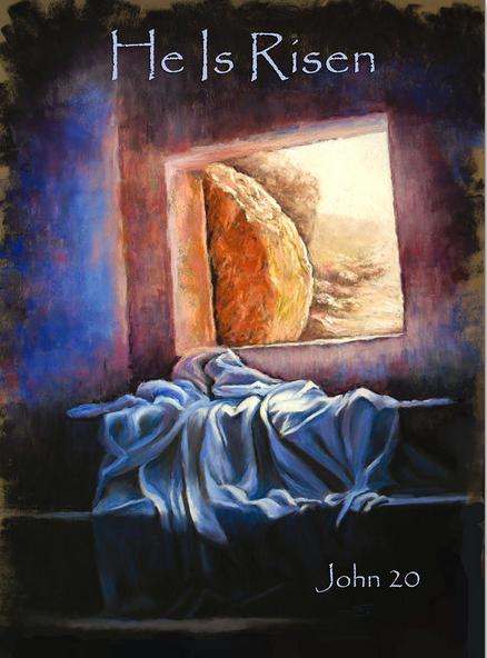 Resurrection Rendition: Artist Susan Jenkins