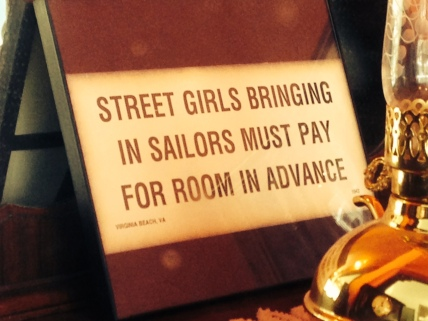 Pay up! Notation reads: Virginia Beach, VA  1943