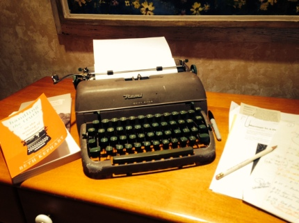 Old Remington typewriter from college days - 1960s