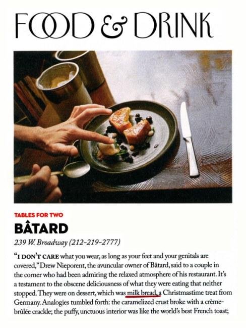 New Yorker_Food & Drink