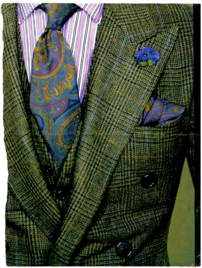 Suit magazine page