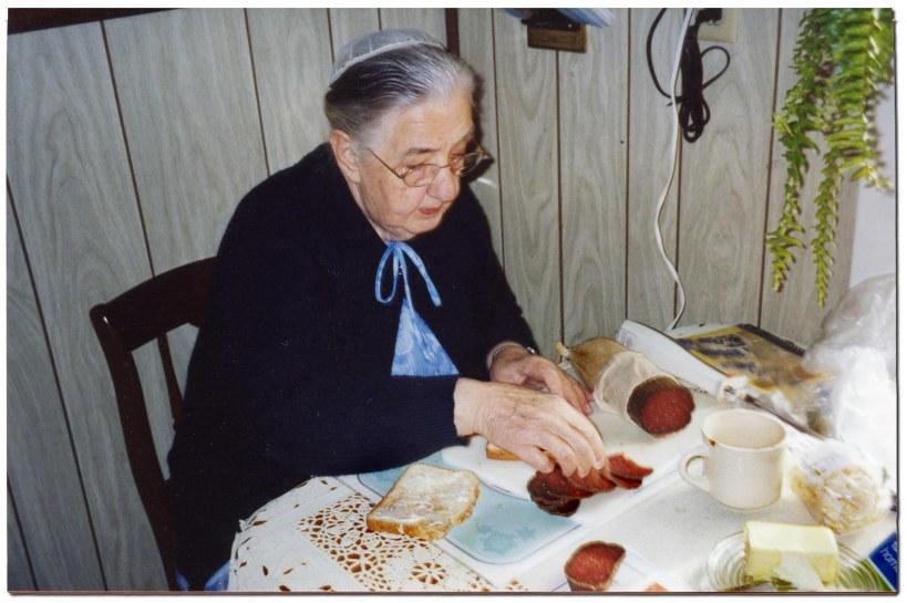 Mother L_balogna sandwiches