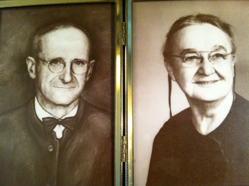 Henry and Fannie Longenecker, Grandparents