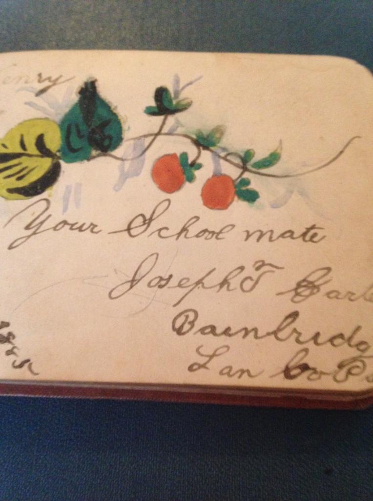 Signature: Joseph T.  Garber     Complete date: February 3,1885