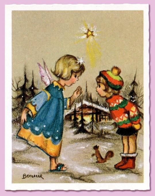 Little Angel Watching_card