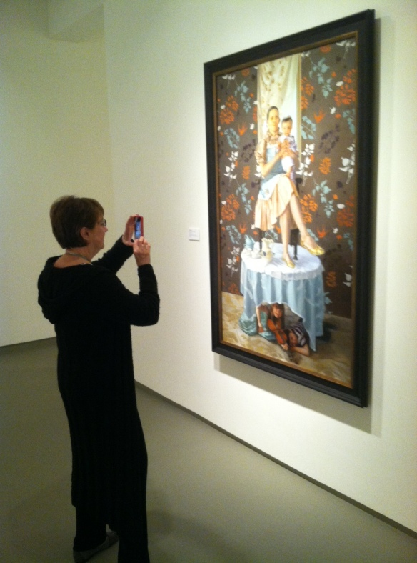 MOCA permits photography of art works for non-commercial purposes