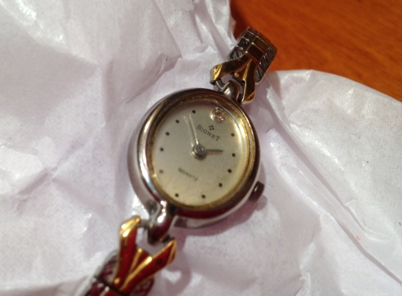 Mother's wristwatch