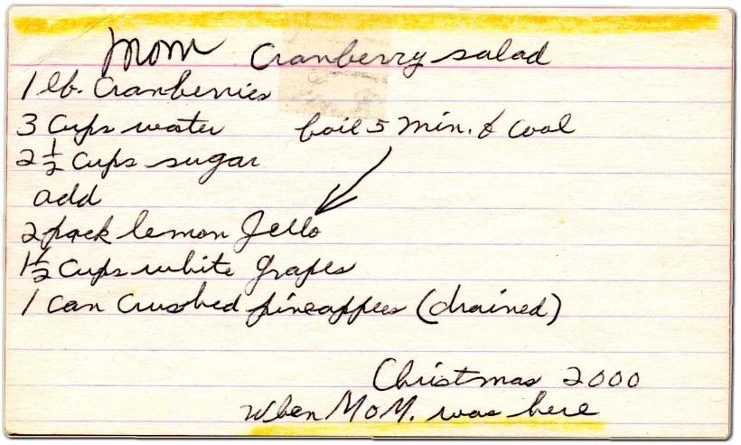 Ruth L_Moms Cranberry reci copy