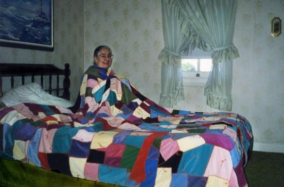 Crazy Quilt design, 1999