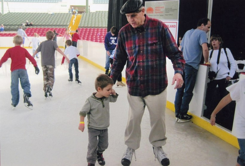 2000-_1200_Ian skating w Grandpa