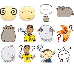 Confused Emoticons