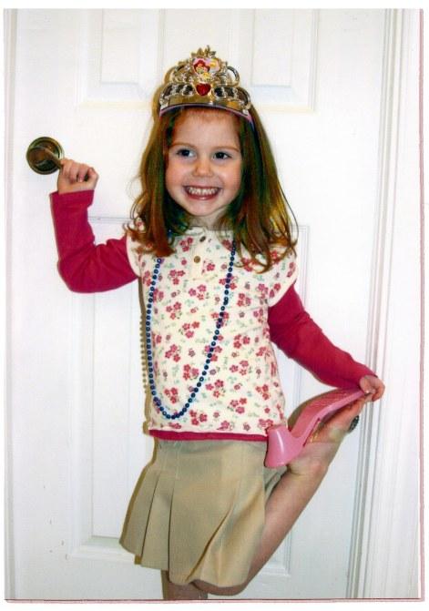2009_Jenna dressed up as princess