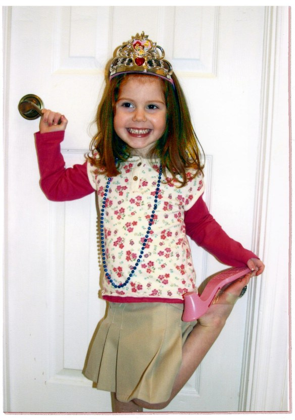 2009_Jenna dressed up as princess