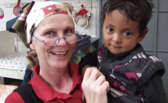 Dr. Deb and Guatemalan boy: Safepassage.org/kayak video