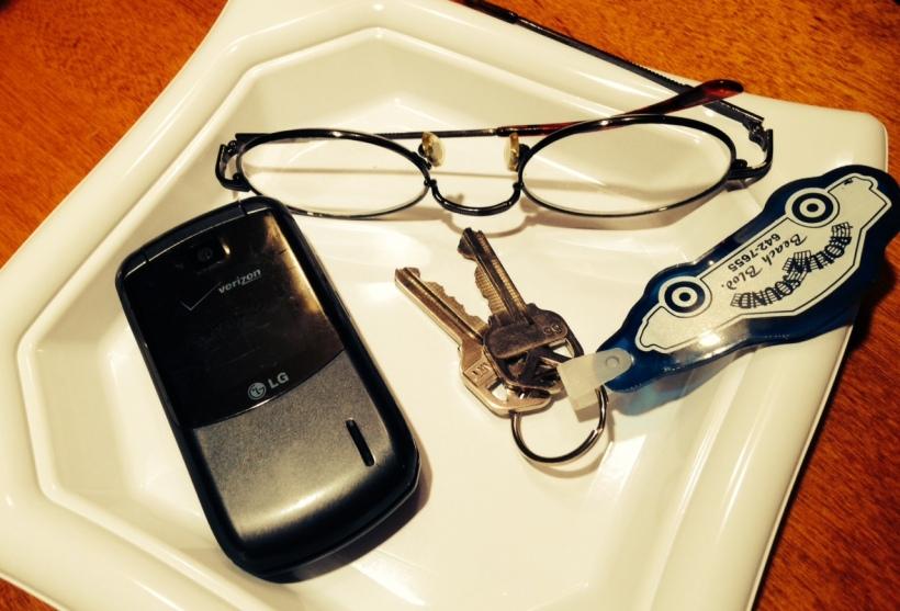 KeysGlasses