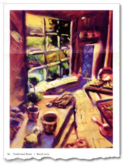 Illustration: James Staag, Traditional Home, March 2002