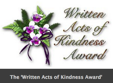 WrittenActsofKindness Award