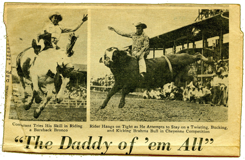 *1964_Wyoming Rodeo_newspaper_300pix