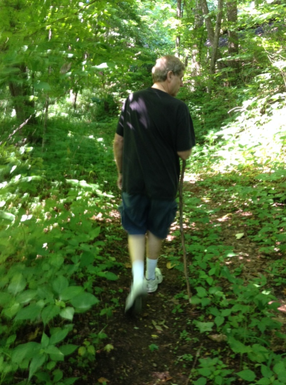 Walking through the woods, making all the difference