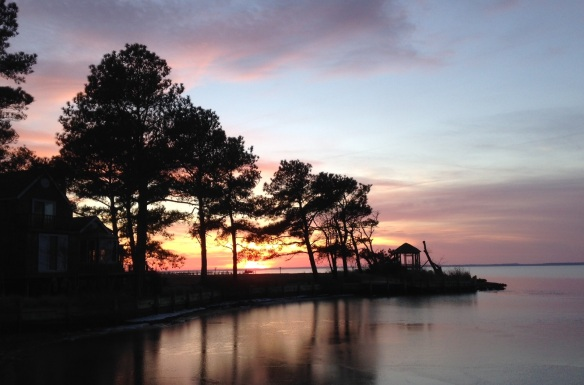 Sunset, Chincoteague Island, VA
