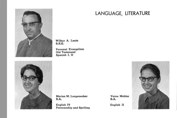 Laurel Wreath yearbook, 1965