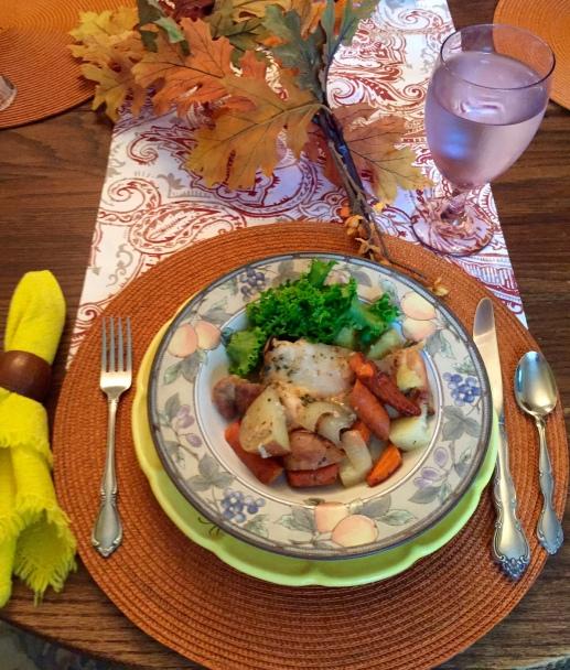 Plated Recipe