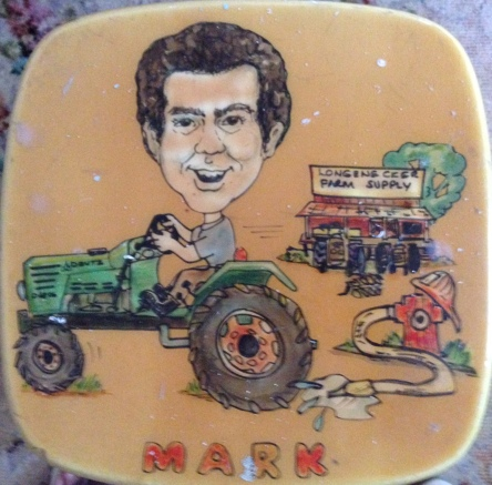 Stool art courtesy of Cliff-Toon Stools by Cliff Beaman, 1985