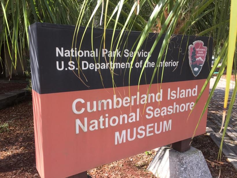 CumberlandIslandMuseumSign