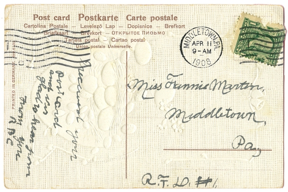 EasterPostcard1908?Back