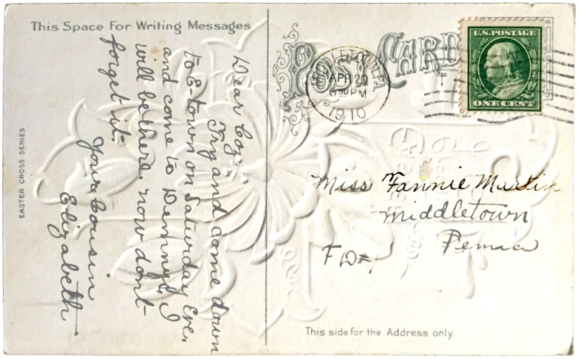 EasterPostcard1910Front